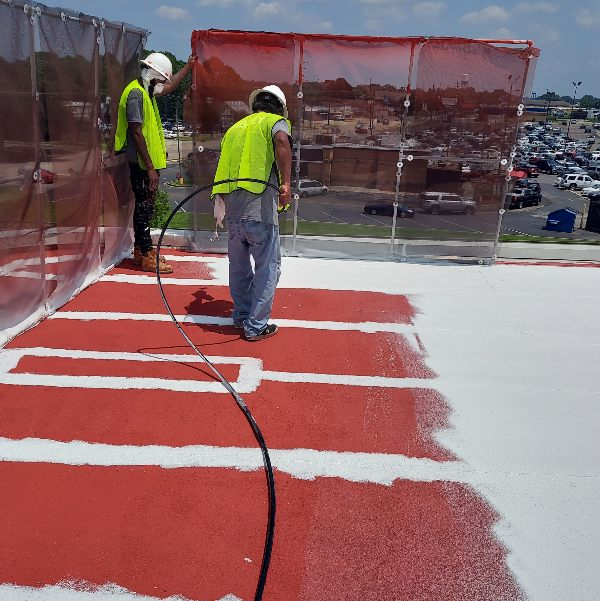 GacoFlex Solvent-Free Silicone Roof Coating System